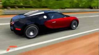 Forza 4 Bugatti Veyron Automatic spoiler