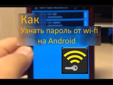 Как узнать пароль от Wi-Fi на телефоне