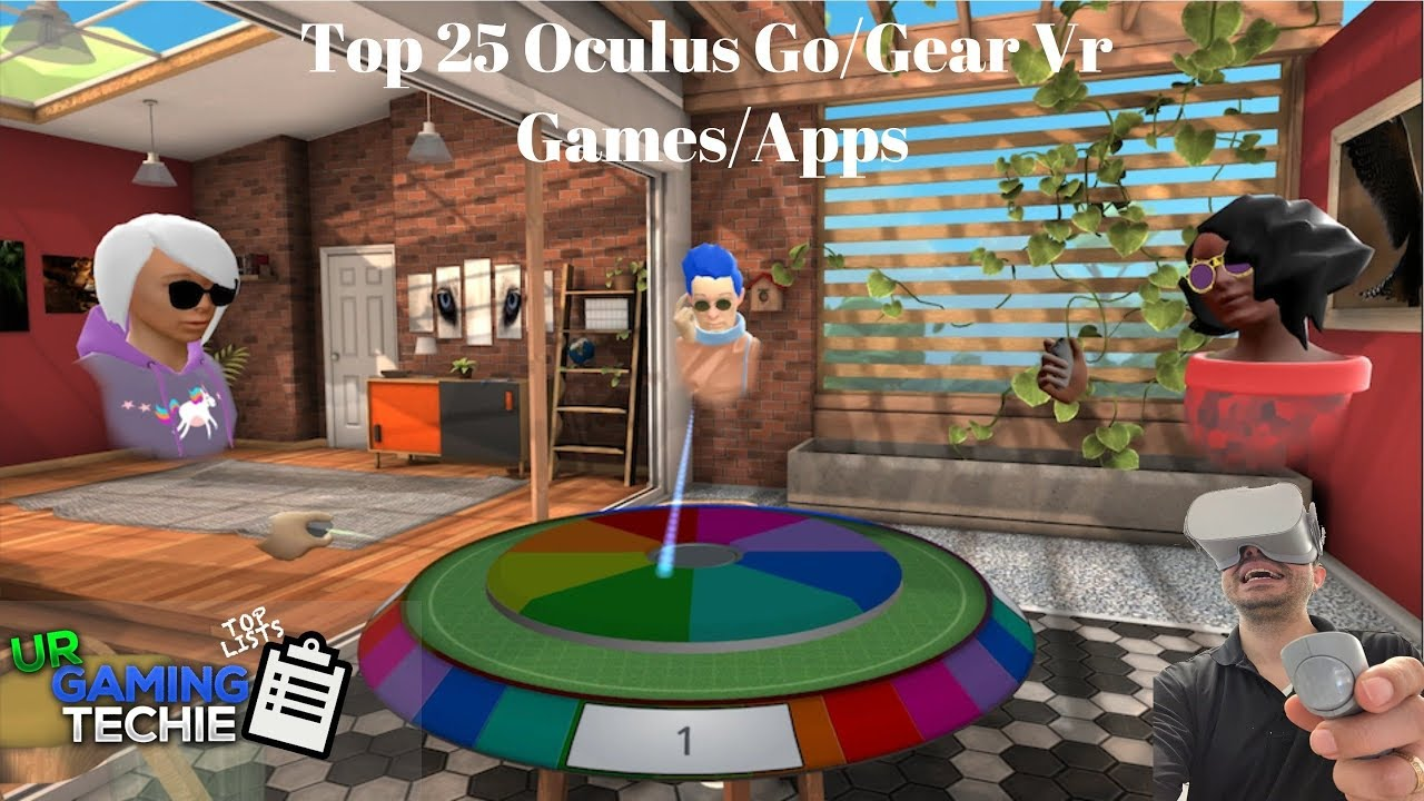 Top 25 Must Have Oculus Go/Gear VR Apps and Games - 2018 Edition