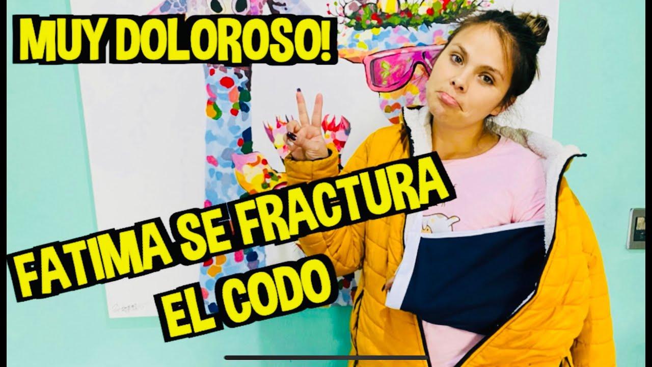 FATIMA SE FRACTURA EL CODO/ ¿COMO PASÒ? / /LOS DESTRAMPADOS