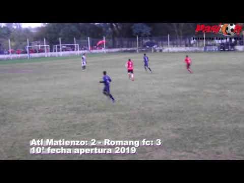goles Matienzo v s Romang fc 10ª apertura 2019