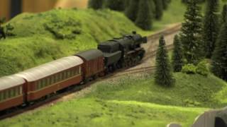 More HO Scale Model Trains/Locomotives in action - from Hobby Fair 2017