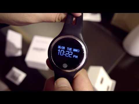 smart wristband E07 esfera redonda