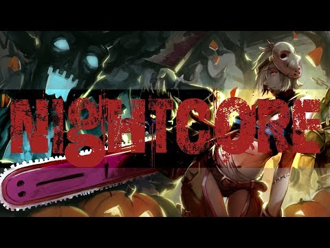 🎃Nightcore - The Living Tombstone - Grim Grinning Ghost (feat Crusher P + Corpse Husband) Lyrics🎃