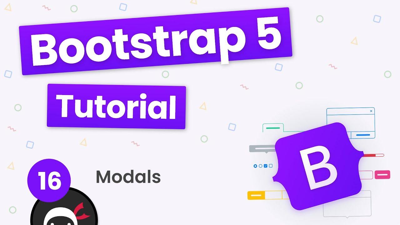 Bootstrap 5 Crash Course Tutorial #16 - Modals
