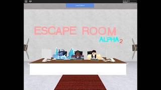 Escape The Room {Roblox}