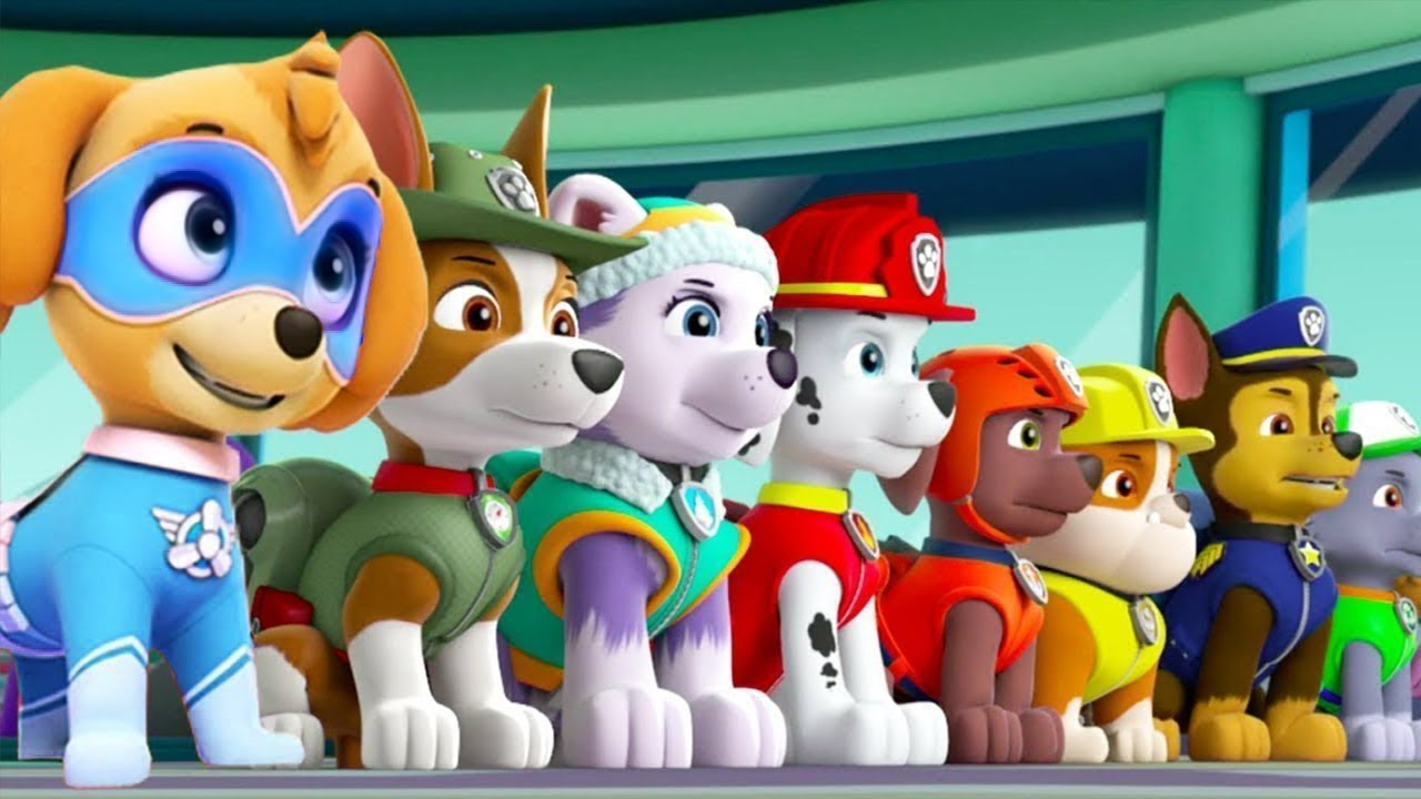 PAW Patrol On a Roll - Tracker Jungle Ulitmate Rescue Missions on Adventure Bay Nick Jr