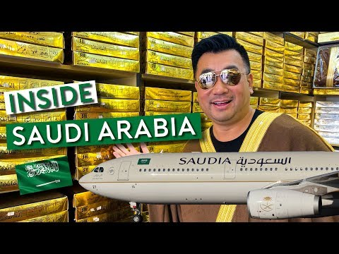 Flying Saudia - Uncover Saudi Arabia as a Tourist 🇸🇦 ترجمة عربية