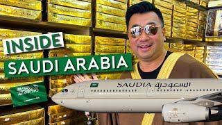 Flying Saudia to Riyadh - Uncover Saudi Arabia as Tourist (vlog #1)