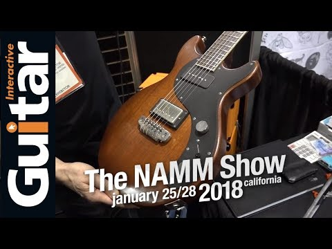 NAMM 2018 | Manson Guitar Works