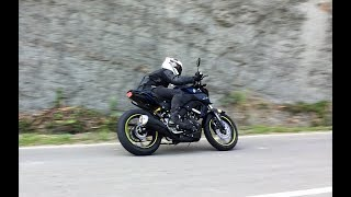 YAMAHA MT15: Raw footage