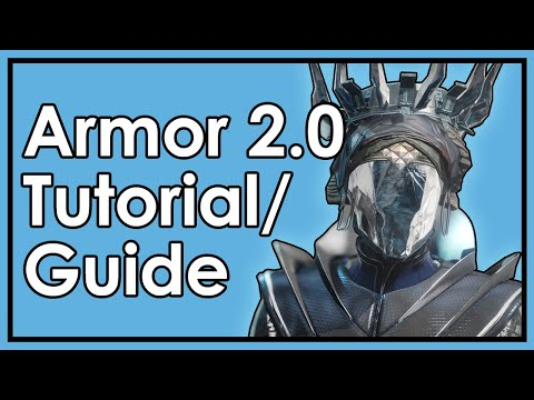 Destiny 2 Shadowkeep: Armor 2.0 Tutorial/Guide - How to Build Your Character