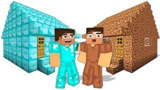 ZENGİN VS FAKİR HAYATI #10 - Minecraft