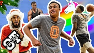 RJ Hampton Puts On For UNICORN FAM In The CHRISTMAS Overtime Challenge! Calls Out MIKEY WILLIAMS 🎅