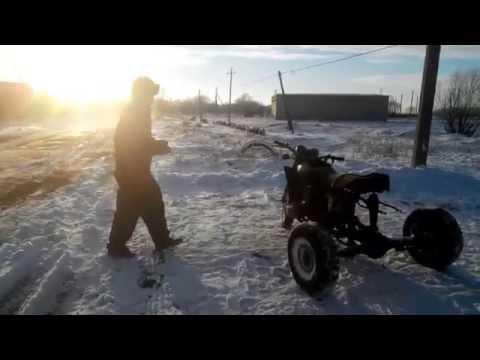 видео: Трицикл Днепр испытание  (3  часть) Зимний дрифт 2015