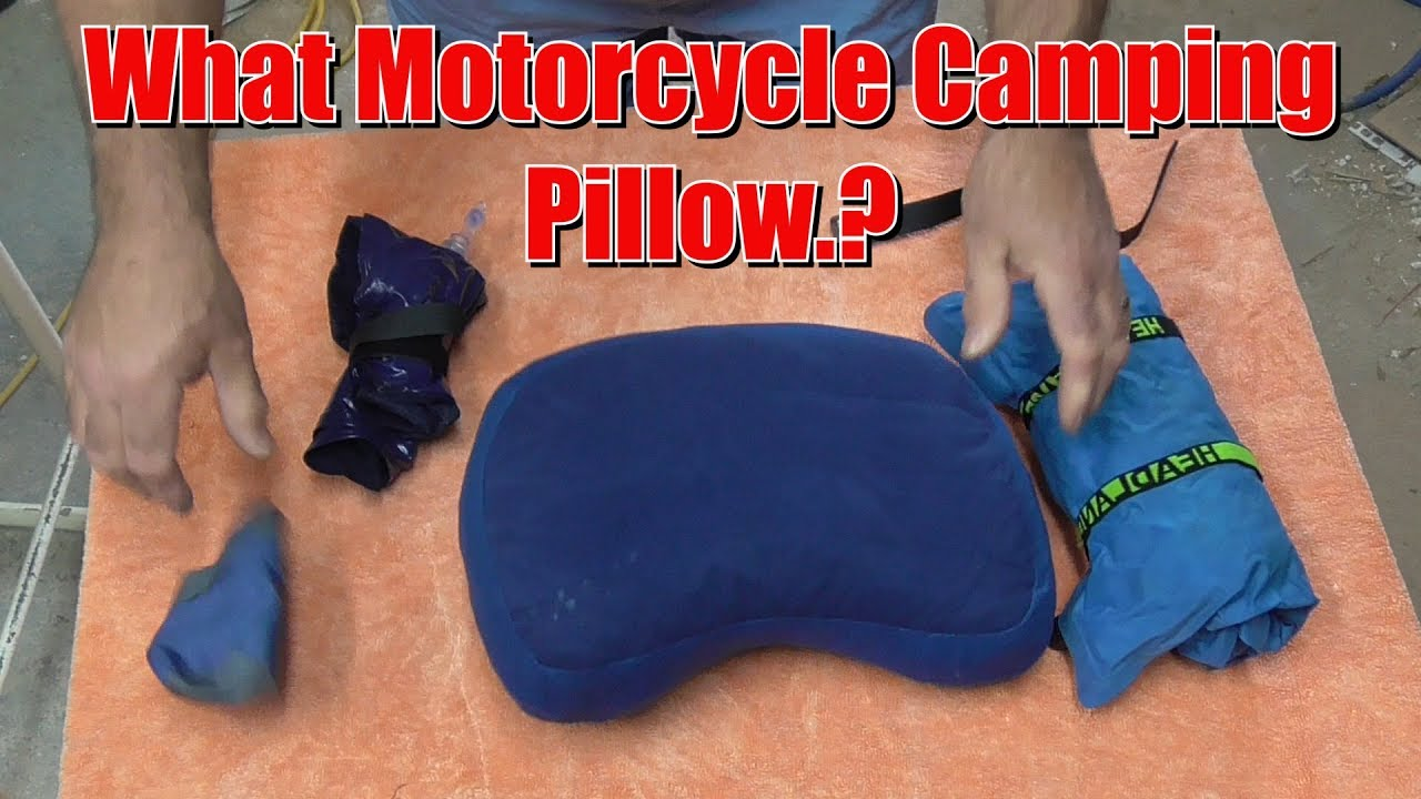 Motorcycle camping Pillow