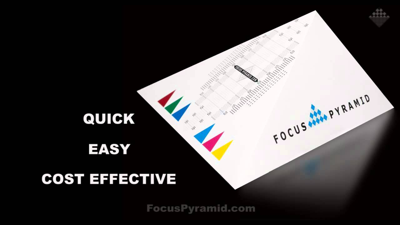 Focus Pyramid Autofocus Lens Calibration System for Adjusting Canon Nikon  Sony Olympus & Pentax INFO