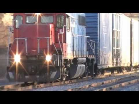 Grand Trunk Western (Freight Train), 02-04-2012