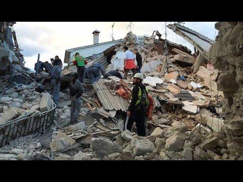 Terremoto Italia, 300 pessoas ja morreram...