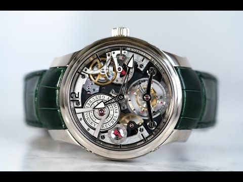 Greubel Forsey Double Tourbillon Technique REVIEW