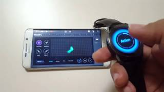 Galaxy Gear S2 / Soundcamp Looper controller app