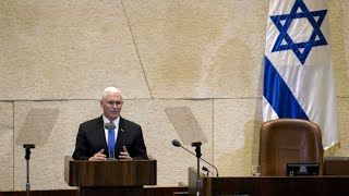 Israel: Us Embassy To Move To Jerusalem By End Of 2019, Pence Says