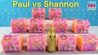 Paul vs Shannon Challenge BFFS Best Furry Friends Blind Bag Opening | PSToyReviews