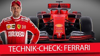 Formel 1 Autos 2019: Ferrari SF90 (Technik-Check)