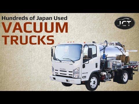 Japan Used Vacuum Trucks On Sale