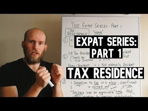 The Expat Series - Part 1: Tax Residence