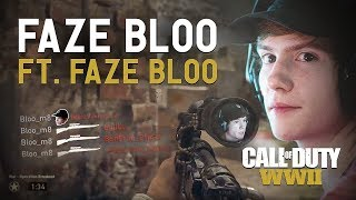 FaZe Bloo WWII Montage feat. FaZe Bloo