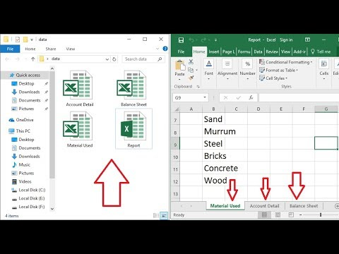 How to Split Each Excel Sheet into Separate Files Easy (Excel 2003-2016)
