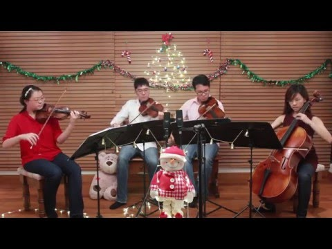 Christmas Medley: Let It Snow & White Christmas - Arpeggione String Quartet (Singapore)