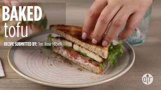How to Make Baked Tofu   Lunch Recipes   Allrecipes.com