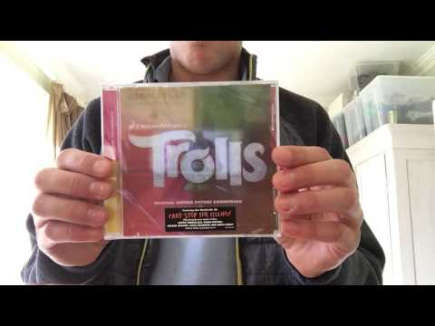 The TROLLS Soundtrack cover reveal (CD)