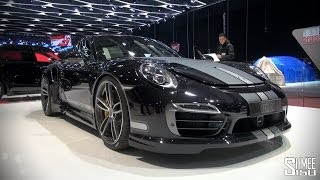 STAND TOUR: TechArt 911 Turbo S, Magnum, Grand GT at Geneva 2014