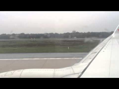 Boeing 737-8K5 takeoff - CGN