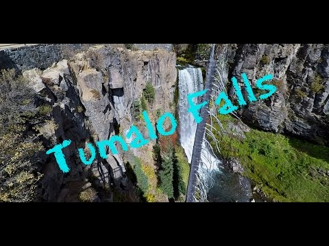 Beautiful Trail Hiking: Tumalo Falls Oregon in 1080p