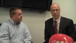 Mark Messier on new M 11 Helmet