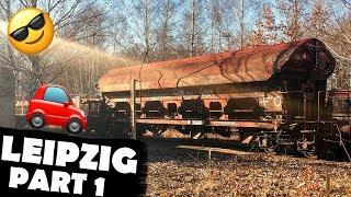 Lokschuppen und verlassene Züge - Leipzig Trip Part 1 🚗🤗