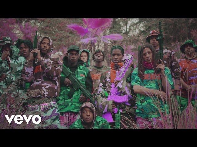 AAP Mob - Yamborghini High ft Juicy J