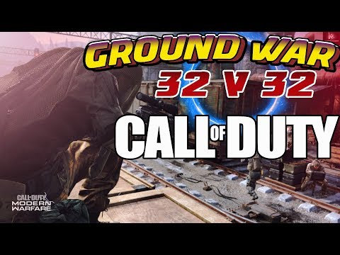 BEST MODE : MODERN  WARFARE: GAME PLAY GROUND WAR 32V32 FUNNY MOMENTS PS4