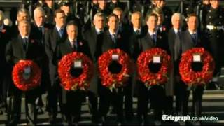 Remembrance Sunday: Two minute-silence observed as Britain remembers war dead