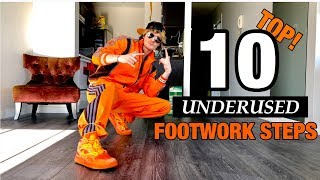 Footwork Tutorial | Top 10 Most Underused Footwork Steps | That You Should Be Using