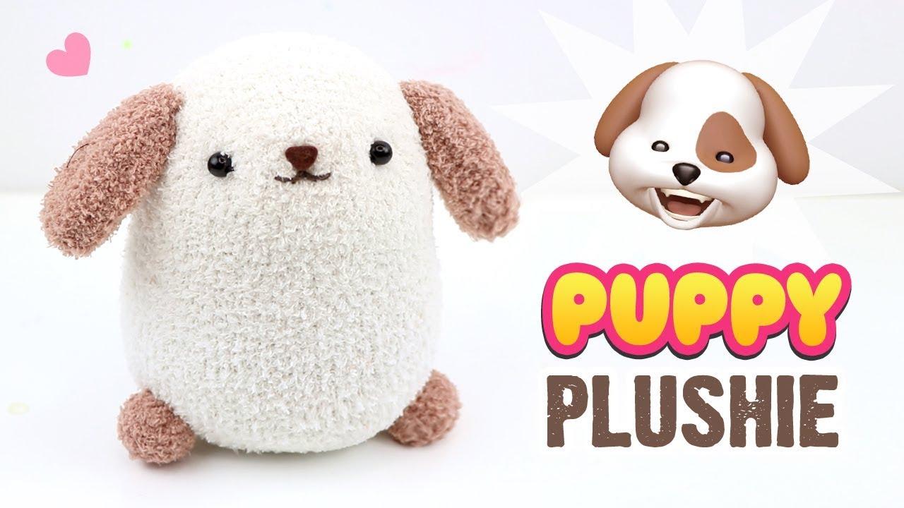 Diy Dog Plushie Easy Puppy Sock Plush Tutorial Fun Budget Crafts