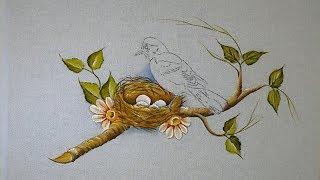 Aprenda a Pintar Pássaro no Ninho – Parte 1