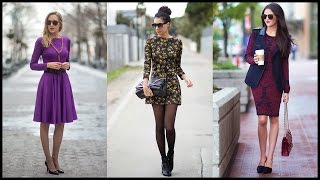 Long Sleeve Dresses For Fall And Winter