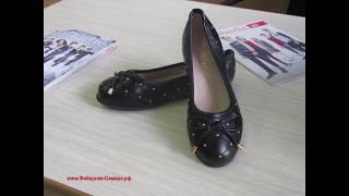 Обувь детская для школы, балетки для девочки.
