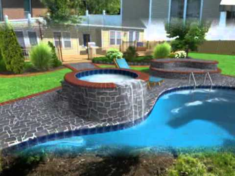 Small Inground Pool Design Ideas - Youtube