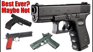 Will There Ever Be A Better Pistol Than Glock: Hudson H9 Laugo Alien FK BRNO
